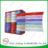 De satén de poliéster de doble cinta de papel de regalo se enfrenta a la venta