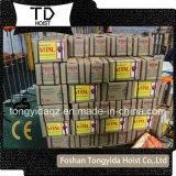 Fabricant palan à main d'alimentation de 1 tonne/tonne 2 tonne/3/ 5 tonne palan à chaîne