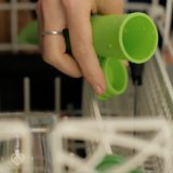 La poche de vente chaude préférée de bruit d'esquimau de silicones de gosses moule le bâton de Popsicle