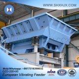 Asamblea conveniente que mina el alimentador vibrante europeo para industrial químico