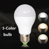 9W LED Birnen-Farbe der Lampen-3-CCT, die LED-Birne ändert