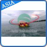 De reuze Opblaasbare Towable Sporten van het Water, het Opblaasbare Stuk speelgoed van het Water van de Boot van de Disco, Gek UFO, de Boot van de Orkaan