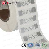 Tag passivo do embutimento da freqüência ultraelevada Ucode G2im+ RFID do programa da MPE