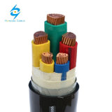 câble d'alimentation blindé IEC60502-1 de 5 faisceaux de 0.6/1kv 3X185sqmm+2X95mm2 Cu/PVC/PVC/St