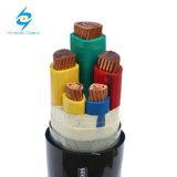 0.6/1kv 3X185sqmm+2x95mm2 Cu/PVC/PVC/St Vehículos blindados de 5 núcleos Cable de alimentación IEC60502-1