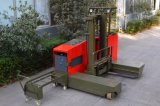 caminhão lateral do alcance do carregamento 2500kg para o caminhão de Forklift estreito longo do corredor do material Td25