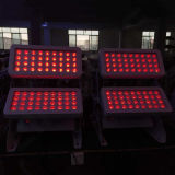 72X10W LED Bañador de pared exterior