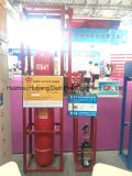 Sistema extintor mezclado No-Contaminado la mejor venta del gas N2CO2 del mercado