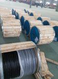 AAC XLPE Insulated Overhead Aerial Bundle Triplex ABC Cables Purpura 2*1/0+1/0AWG