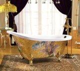Baquet de trempage acrylique de Bath de mosaïque de luxe neuve de modèle (620A-1)