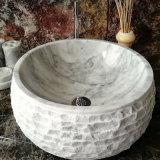 Белый цвет черного мрамора, бассейна для верхней части зеркала в противосолнечном козырьке