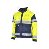 Ropa de trabajo Ropa de seguridad amarillo Chaqueta reflectante