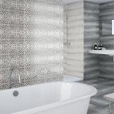 Azulejo esmaltado de cerámica interior de la pared para el cuarto de baño
