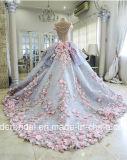 Bola de flores de la boda vestidos de azul de Quinceañera vestidos de novia Z3033