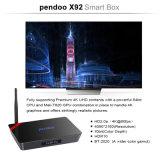 Pendoo X92 Amlogic S912 텔레비젼 상자 이중 WiFi 인조 인간 6.0 마시맬로 Octacore 2g 16g 텔레비젼 상자