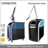 Tecnologia laser Di picosecondo per rimozione 1064nm 532nm del tatuaggio di trattamento dell'acne