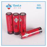SGS MSDS (R6)が付いているAA 1.5Vのリモート・コントロール電池