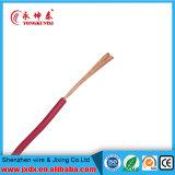 Copper Single Strand Cu PVC Isolado Resistente ao calor Fio Elétrico