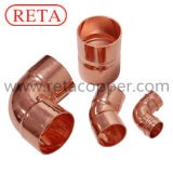 Encaixe de cobre de ASME B 16.22 para a ATAC