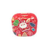 Biscuit Candy Food Grade Festival Decoración Embalaje Tin Box (S001-V5)