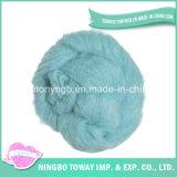La filature de laine à tricoter à la main de feutrage brossé de fils à tricoter bon marché