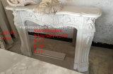 Sconto che vende la mensola del camino di marmo bianca del camino in azione (SY-MFP12310)