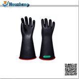Тумак высокого качества Class4 36kv прямой изолируя перчатки эмульсии Safey