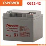 Поставщик батареи 12V40ah геля для солнечных систем Cg12-40 энергии ветра