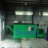 Bloco de aço dos aparas que faz a máquina