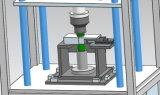 Machine de soudure à chaud par rotation pour le plastique sphérique de forme