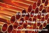 Tubo duro del cobre del agua del genio