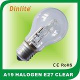 A19 lampada alogena economizzatrice d'energia di gelo E27
