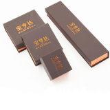 Letzter Preis-Packpapier-Schmucksache-Kasten mit Firmenzeichen-Stich (J78-E)