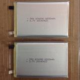 pilha recarregável do íon de Li da bateria de Lipo do polímero do lítio 6000mAh 906090 3.7V para o PC da tabuleta do banco da potência do GPS PSP DVD do E-livro