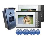 De populaire Deurbel van de Telefoon van de Deur van 4 Draad Video met de Functie van de Intercom