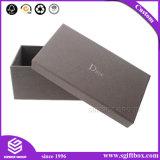 袖口の包装のギフトの金の銀ぱくのロゴの化粧品ボックス