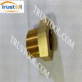 真鍮のホースのフェルールの自動旋盤の回転