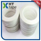耐熱性シリコーンの付着力の単一の味方された白いグラスクロステープ