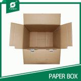 Rectángulo de envío de papel de empaquetado llano del rectángulo