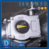 Didtekは鋼鉄を減らす穴3PCSボディトラニオンの球弁を造った