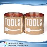 Caisse d'emballage de empaquetage de papier rigide de vin de café de cadeau de tube (xc-ptp-018)