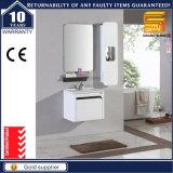 光沢度の高く白いラッカー純木の浴室の虚栄心のキャビネット