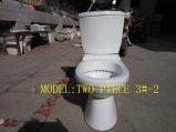 3#-2 separano/toletta di ceramica a due pezzi della stanza da bagno di Washdwon in articoli sanitari