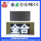 Singola visualizzazione esterna del testo dello schermo del modulo di bianco P10 LED
