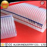 PVC中国からの水そして吸引を提供するための帯電防止鋼線の補強されたホース