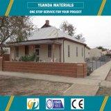 Casa prefabricada chalet al por mayor de la manera de la alta calidad del pequeño