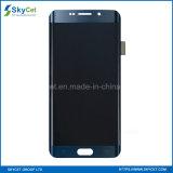 Первоначально мобильный телефон LCD для края Samsung S6 плюс LCD