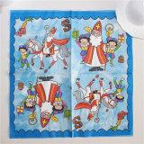 Papel higiénico desechable servilleta de papel para la fiesta de Navidad