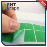 Quadratisches Form-Grün-Weiß gestempelschnittenes selbsthaftendes Kreppband