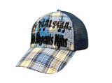 La broderie faite sur commande recouvre les casquettes de baseball promotionnelles de broderie de chapeau de Snapback de chapeau de chapeaux de coton de Burshed